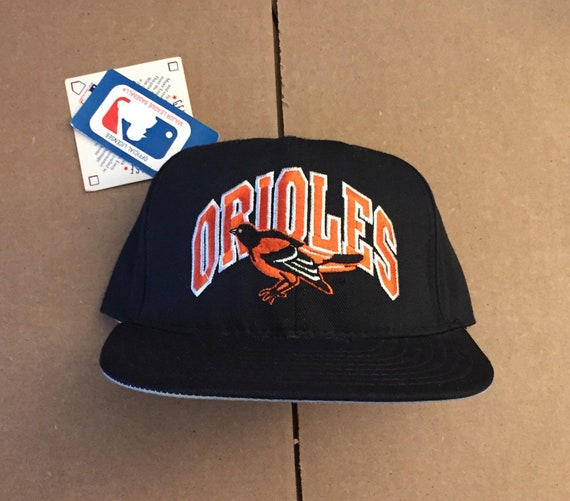 4253f06df70 Vtg deadstock Baltimore Orioles snapback hat cap MLB 90s 80s