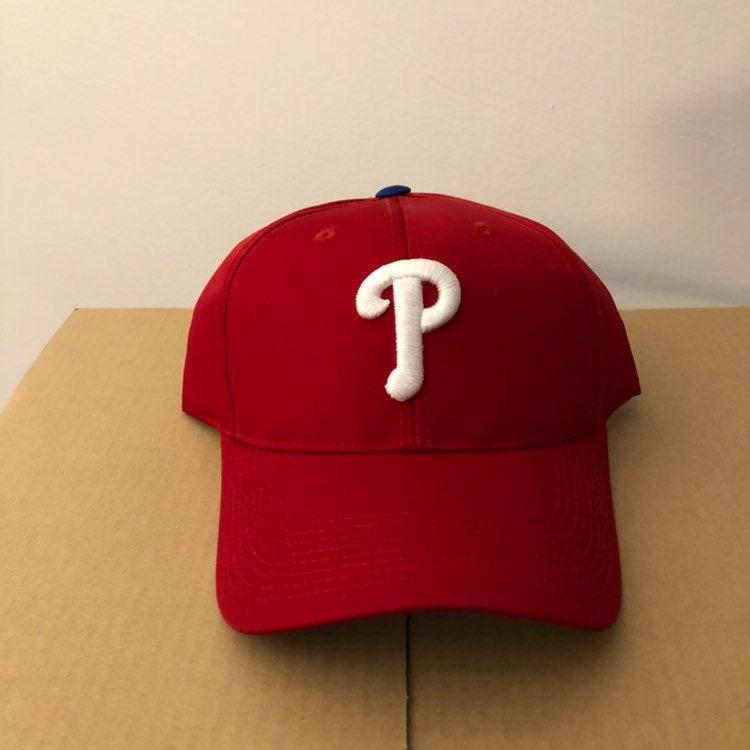 6baa19d4 Vintage deadstock Philadelphia Phillies snapback hat dad cap 90s jersey  logo Mlb helmet eagles baseball curved brim