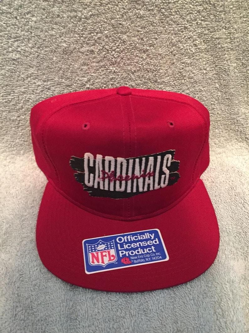 Vintage deadstock arizona cardinals snapback hat phoenix cap  f497fbee79ec