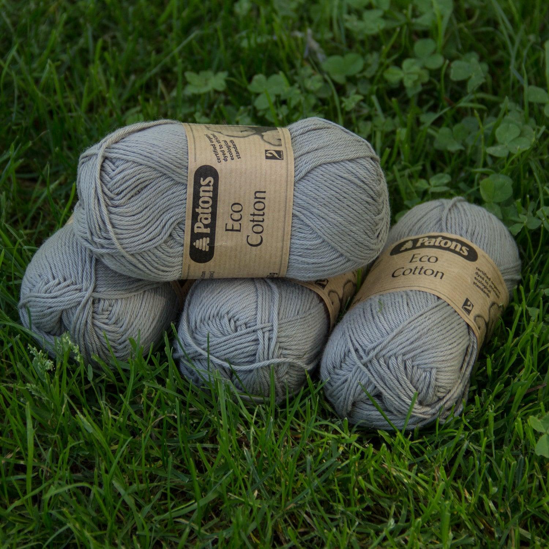 Patons Eco Cotton 4 Ply Stone Etsy Visval Echo Khaki