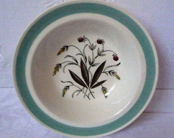 Alfred Meakin 'Hedgerow' Cereal Bowl  1950s