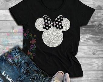 4e5b460d9ab4 Minnie mouse glitter