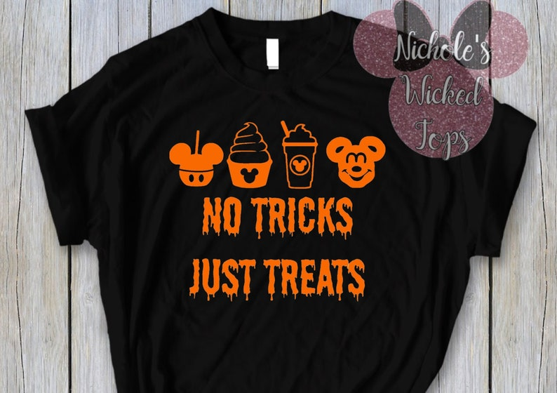 13f0590d4 No tricks Just treats // Disney Snacks // T-shirt Tank | Etsy