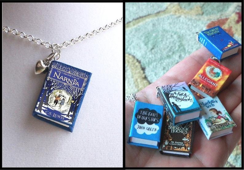 The Chronicles of Narnia with Tiny Heart Charm Micro Mini image 0