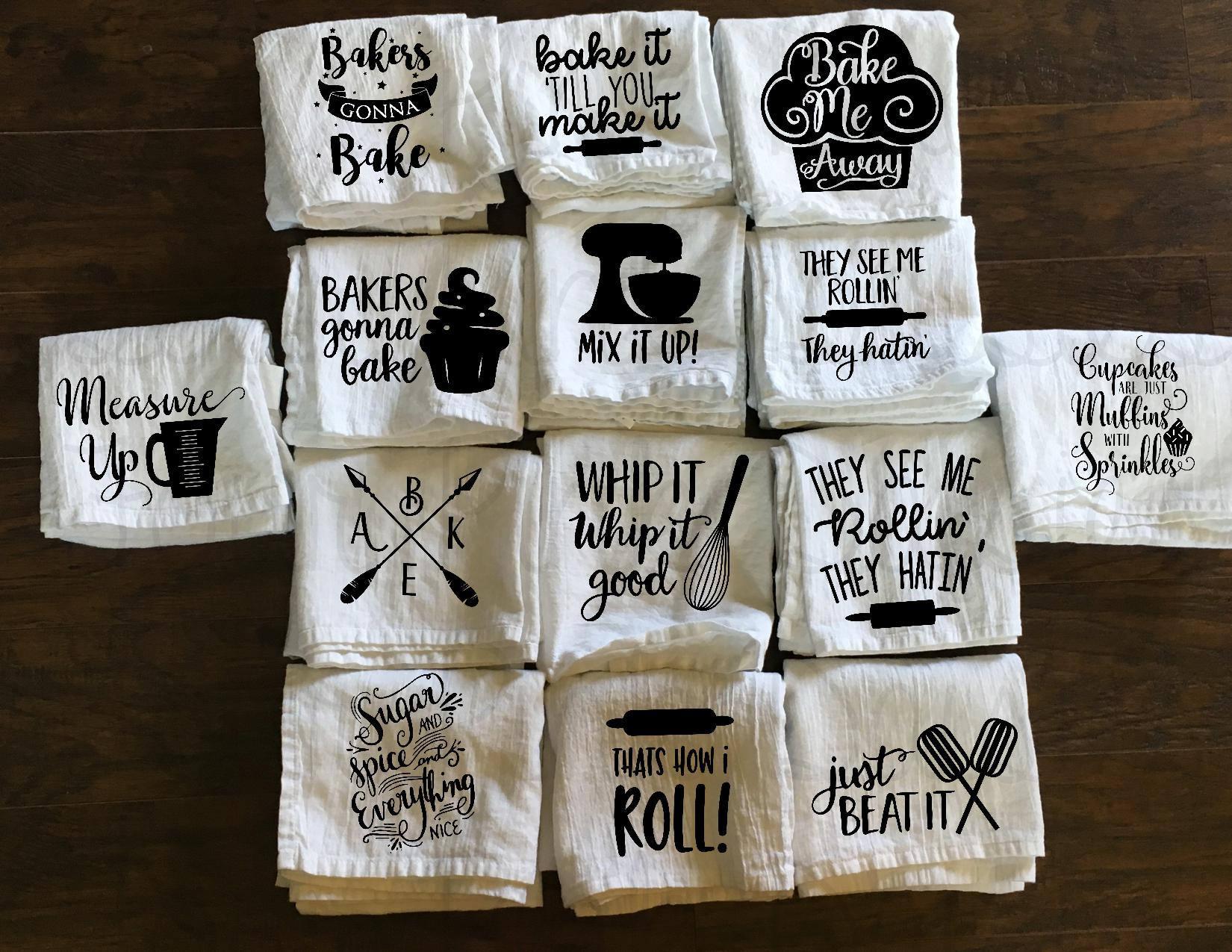 Kitchen Towel Baking Towel Funny Towel Flour Sack Towel Etsy