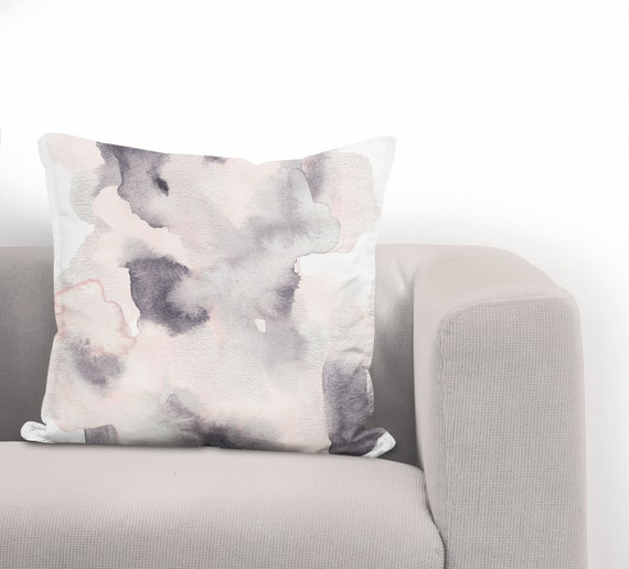 Metallic Wash Pillow Cover Throw Pillow Cushion Cover Etsy Extraordinary How To Wash A Decorative Pillow