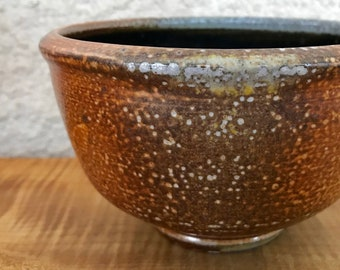 Soda-fired Pottery Bowl / Soup, Cereal, Rice Wheel Thrown Bowl
