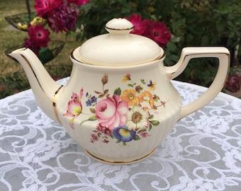 Sadler Floral Teapot
