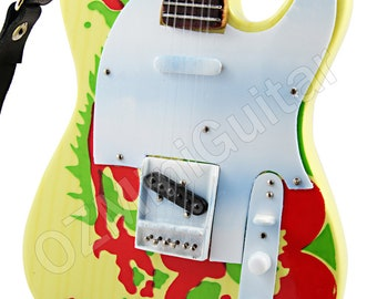 Miniature Guitar Jimmy Page DRAGON Telecaster