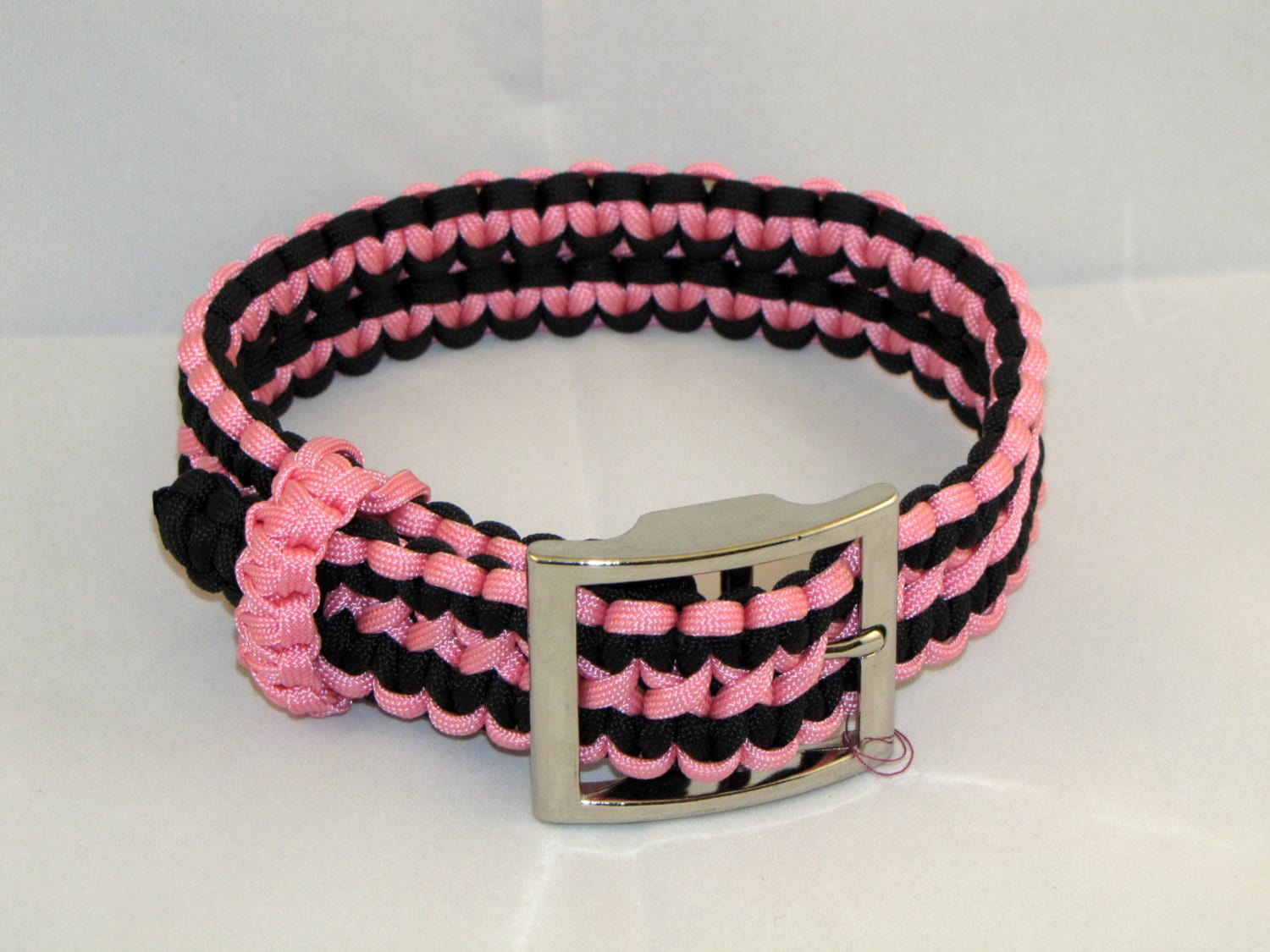 Adjustable Paracord Dog Collar Up To 18 Etsy
