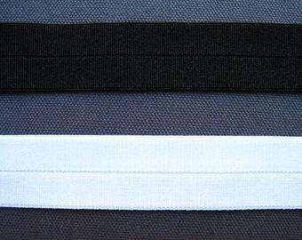 Stretch Grosgrain FOE Fold Over Elastic By The Yard 12mm/12mm
