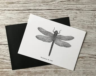 Dragonfly notecard / Postcard SALE