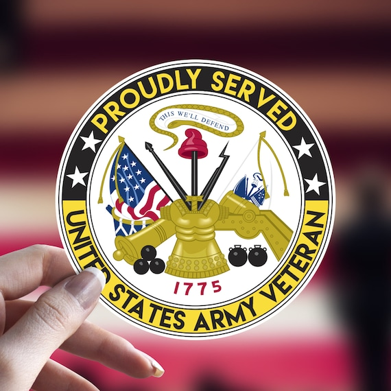 US Air Force Retired Circle Car or Truck Window Laptop Decal Sticker