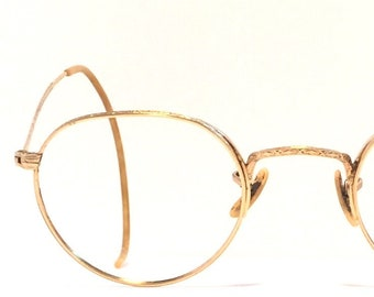 9149dd5619e0 Vintage Antique eyewear. Bausch Lomb 1920 s. Gold filled. All original  Great quality and condition! Amazing detailing!