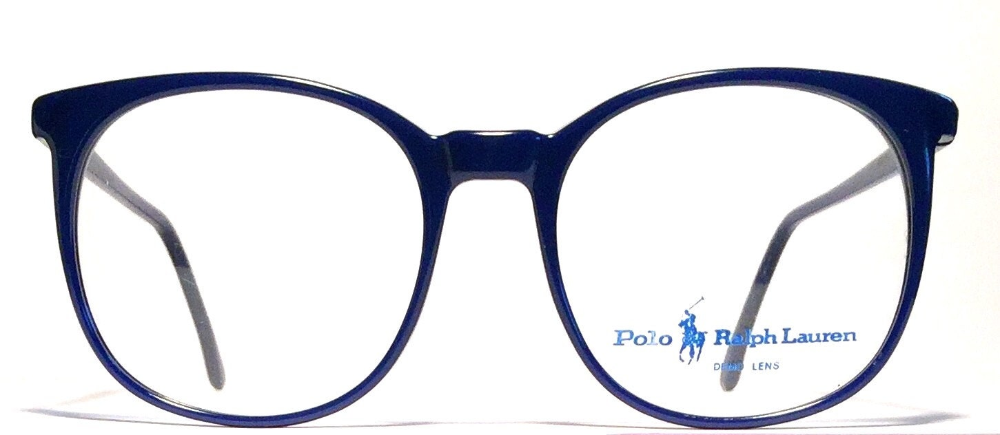 Vintage eyewear. Ralph Lauren Polo. Round shape. Made in Italy ...