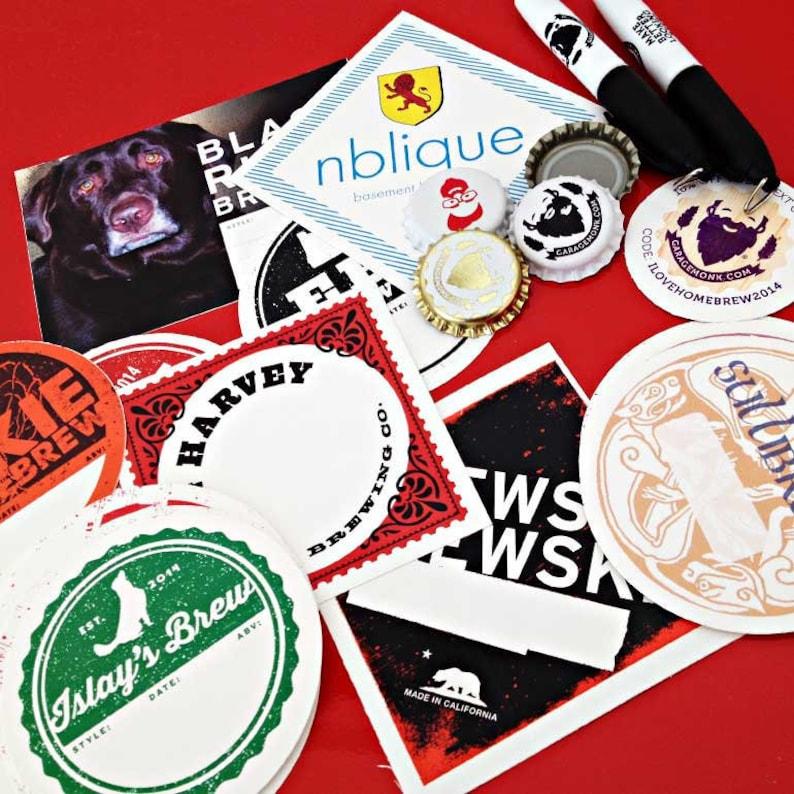 Custom Printing Vinyl Sticker Labels  Writable Waterproof  image 0