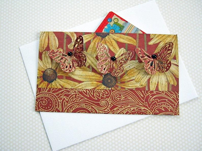 Butterfly Gift Card Holder Envelope Money