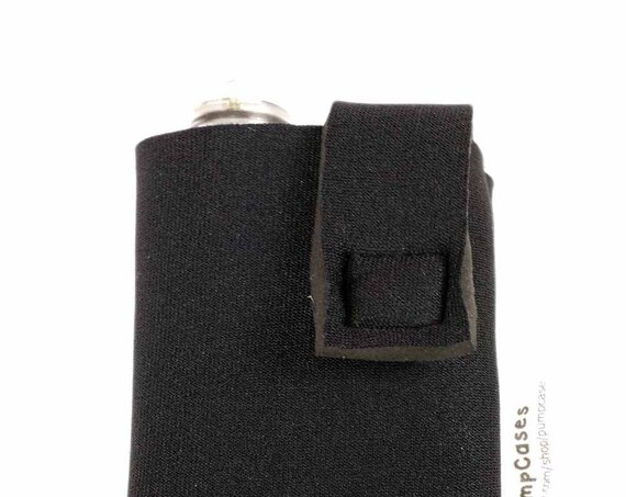 4mm Neoprene Insulated Insulin Pump Case Pouch with Beltloop