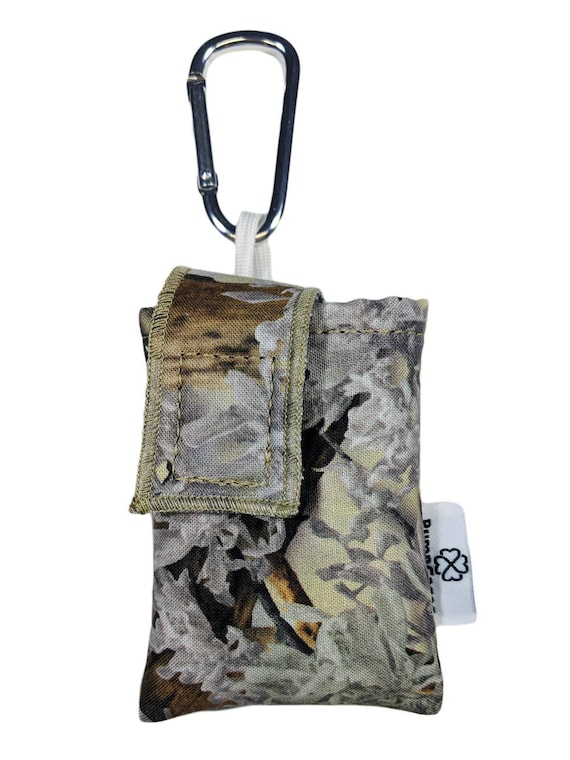 King's Camo Desert Insulin Pump Case / Pouch with Carabiner Clip