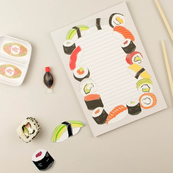 Sushi Notepad Japan Stationery Sushi To Do List Notebook Etsy See 168 unbiased reviews of sushi, rated 4 of 5 on tripadvisor and ranked #41 of 804 restaurants in spokane. etsy