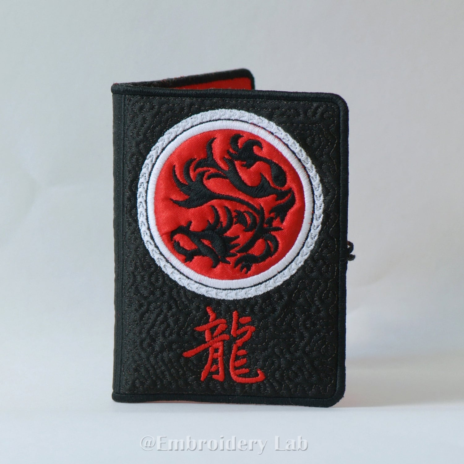 USB Flash Drive Keeper Dragon Wallet Cover Personalised ...