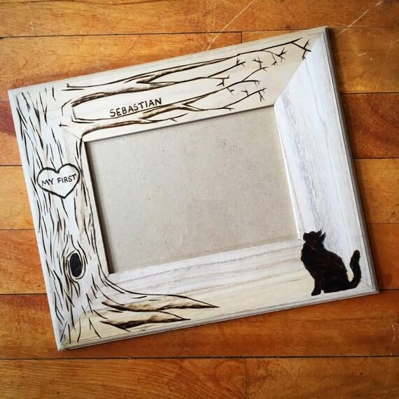 Halloween Cat Pet memorial frame pet frame dog frame cat | Etsy