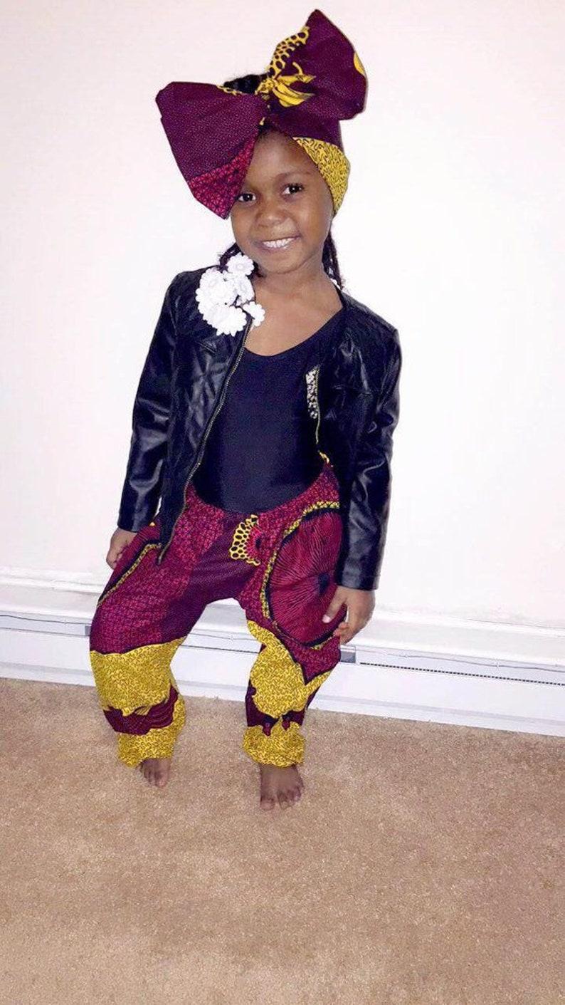 780637e5c660a4 NEW African Print Girls Ankara Pants Children Pants Children