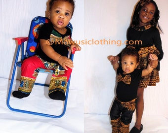NEW African Print Ankara Baby Boys Dashiki Set, Baby Boy Gift Set, African baby, Baby Dashiki, Toddler Boys Dashiki Set, Children Dashiki