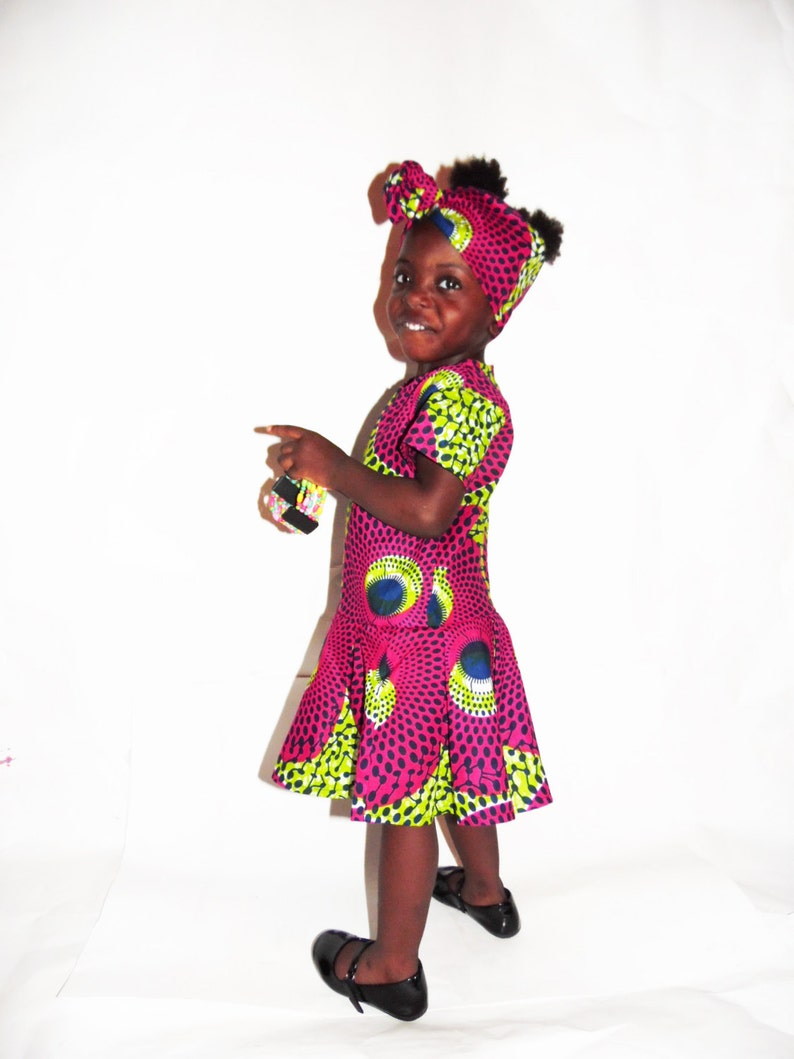 3c38627aa8154d NEW African Print Ankara Record Dress African Fashion
