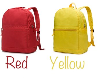 Colorful Polyester Backpack,Rucksack,Travel Bag,School Bag,Polyester Backpack,School Backpack 8 Colors
