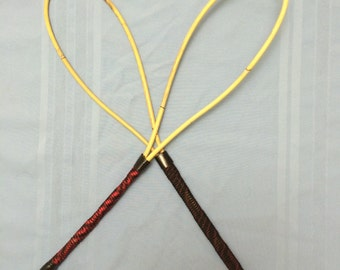 "RingMistress - Loopy Rattan Punishment Cane - 24-26"" (60-65cms) Length and 9 - 10 mm thick rattan strand"