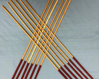 6/12 of the Best - Set of 6 or 12 Classic Dragon Rattan Punishment Canes / School Canes - 7.5-8.5/9-10/10-11/11-12/12-13 mm D & 90-100 cms L