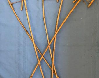 Kooboo Rattan Traditional School Punishment Canes Set of 5 Canes - 78-85 cms L & 7-9.5mm D