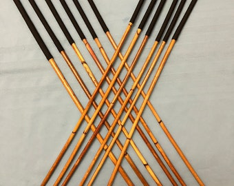SALES SPECIAL - Set of 12 Classic Dragon Rattan Punishment Canes / School Canes/ BDSM Canes -See specs