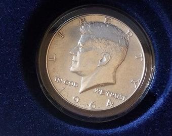 John F Kennedy Coin Etsy