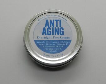 Anti-aging Overnight Face Cream
