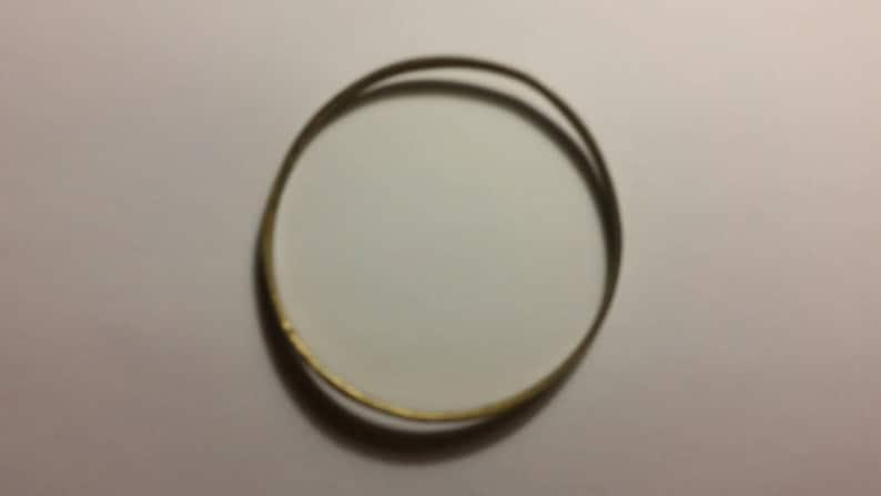 Vintage Purple Shell Brass Bracelet Inlay Bangle Boho Jewelry
