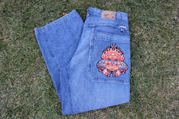 VTG JNCO Wide Leg Baggy Jeans
