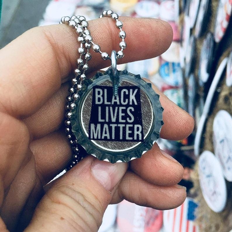 Black Lives Matter Necklace image 0