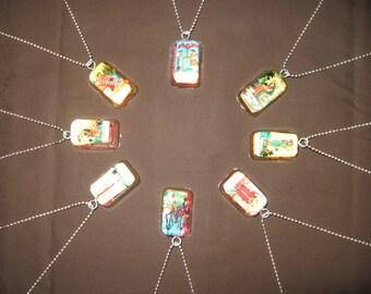 Tarot Card Resin Necklace