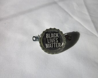 Black Lives Matter Hair Barrette