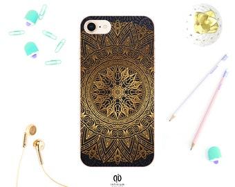2af1a46de4f Gold Mandala Case For iPhone XS, Samsung S10, S10 Plus, Samsung S9, S9 Plus,  XS Max, iPhone XR, 8 Plus, iPhone 8, iPhone 7, iPhone 6S & 5S