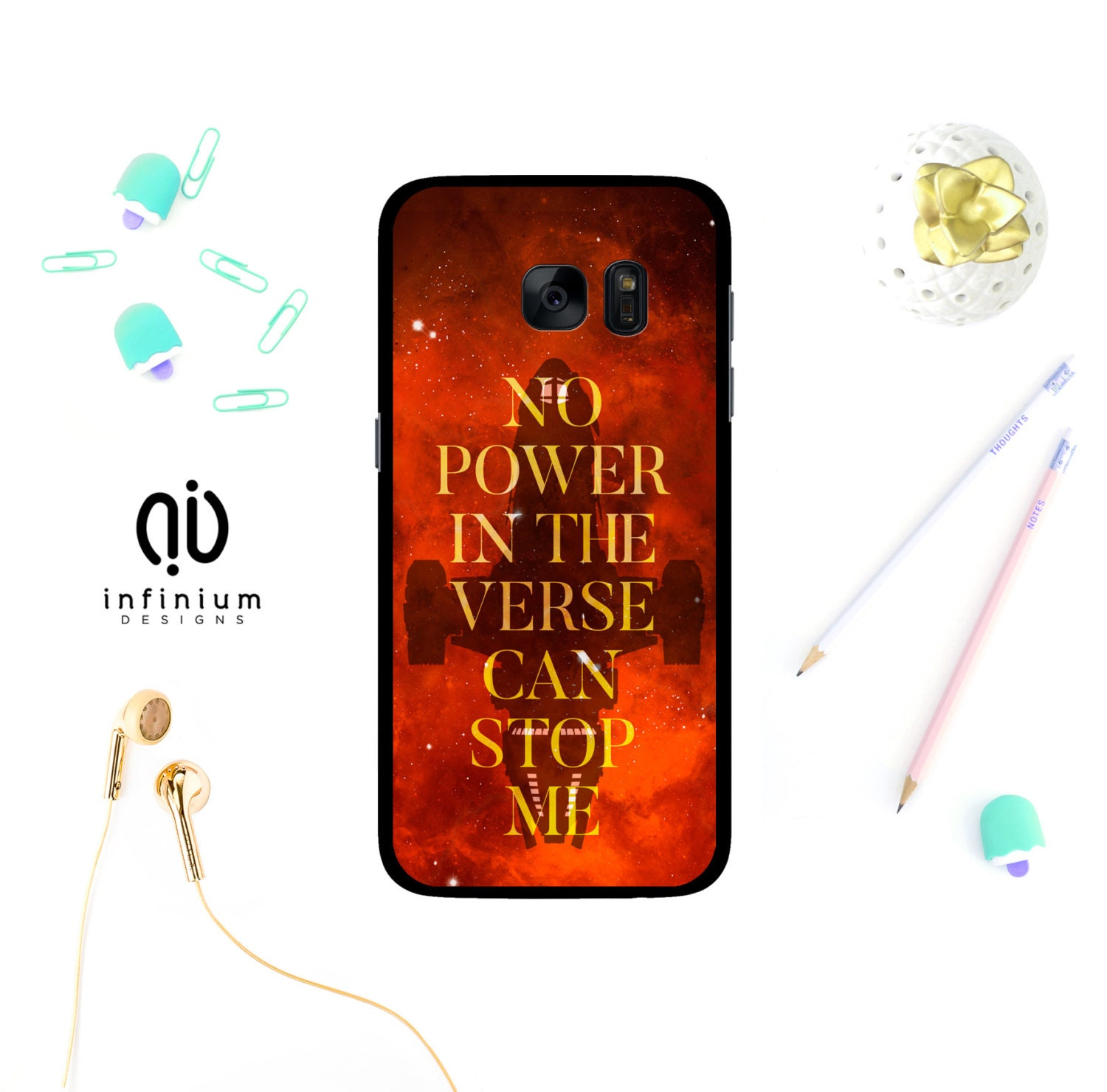 No Power Firefly Case For Samsung S9 iPhone X iPhone 8 8 | Etsy