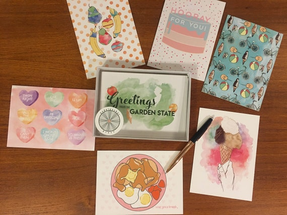 ANY Five Greeting Cards Box Set