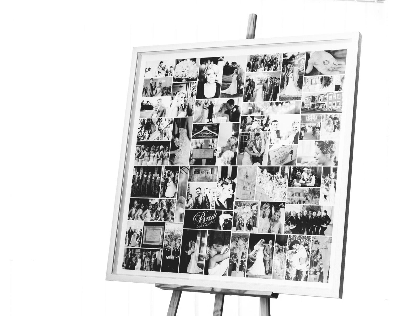 Black and White Multi Photo Frame Large Collage Photo Frames