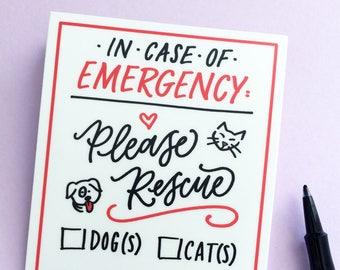 Emergency Pet Sticker - Extras by Alaina