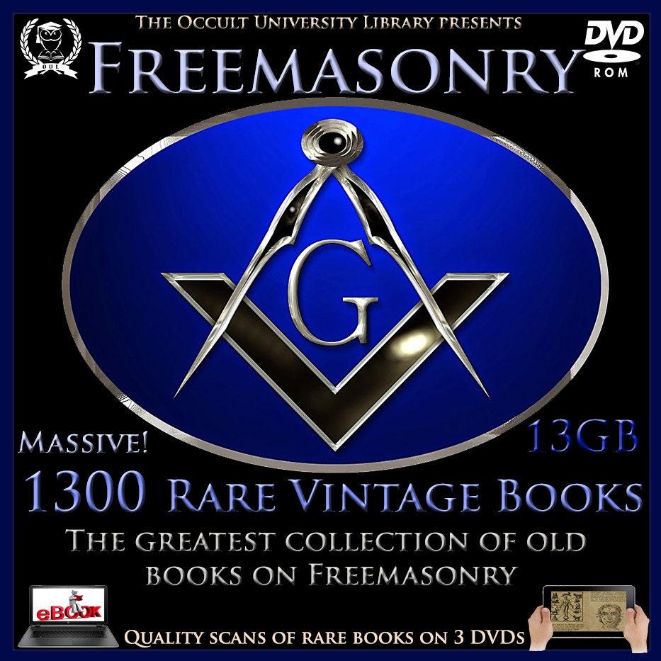 1300 Rare Vintage Freemason Freemasonry Masonic Templar Etsy