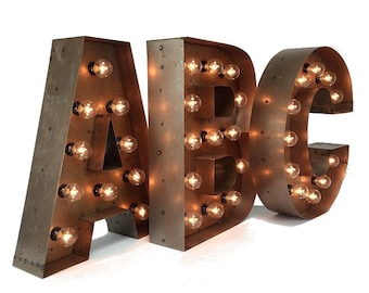 """24"""" Marquee Letters, Light up Letters, Marquee Letters"""
