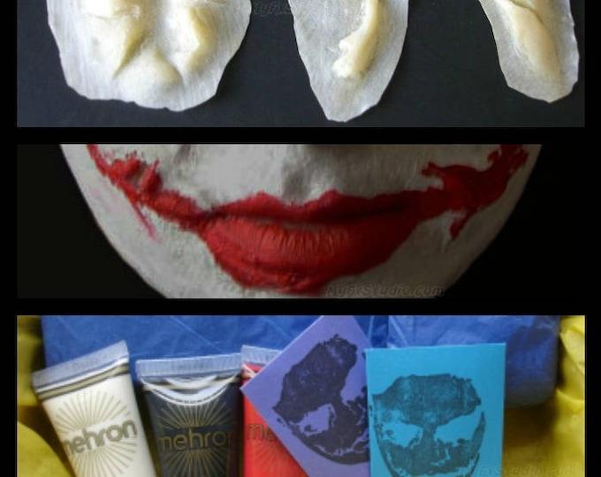 MYFX Joker Scars MEGA KIT for Your Dark Knight Batman Joker Costume Cosplay Prosthetic Mask ~ Free Priority Mail Order by 7pm/est Ship Today