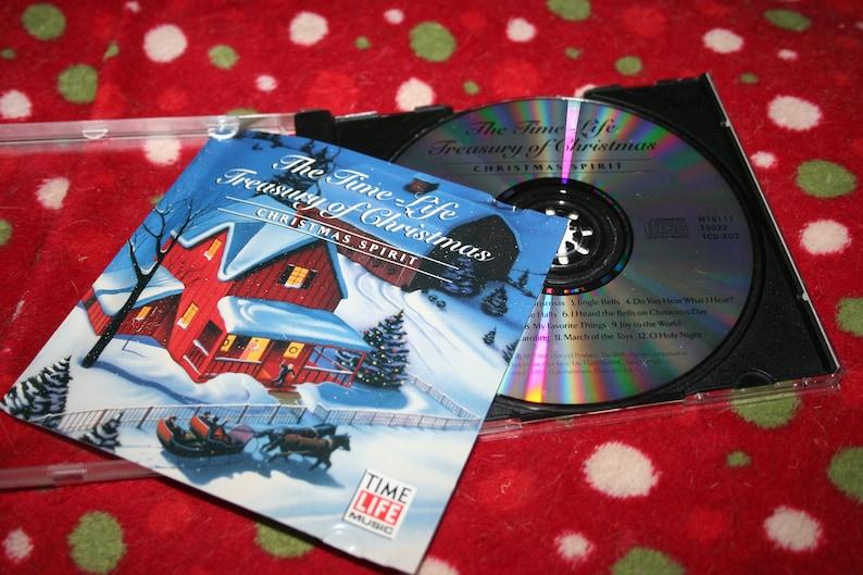 The Time Life Treasury Of Christmas.Christmas Spirit The Time Life Treasury Of Christmas Cd 1997 Christmas Music Classic Music Jingle Bells White Christmas O Holy Night